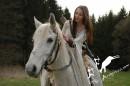 Lučištnice na koni